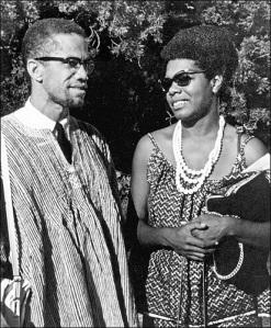 Malcolm X and Maya