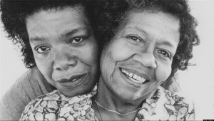 "Maya Angelou had a complicated relationship with her mother, Vivian Baxter, which she examines in her book ""Mom & Me & Mom""."
