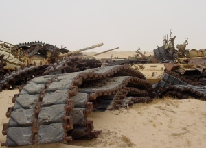 Tank graveyard - Kuwait